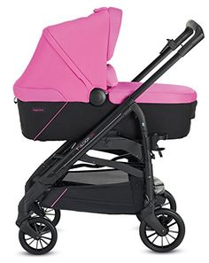 Inglesina TRILOGY COLORS SYSTEM PEGGY PINK con chasis City Black  #niños http://carritosbebe.org/producto/inglesina-trilogy-colors-system-peggy-pink-con-chasis-city-black/