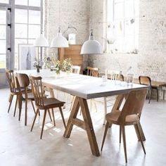 Inspiration inredning matsal. Designmöbler, matbord, stolar till matbord