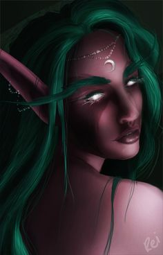 Tyrande Whisperwind by Rei-Does-Art-Stuff.deviantart.com on @DeviantArt