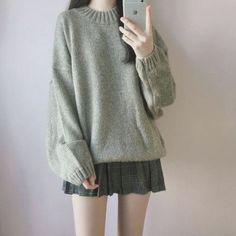Korean Girl Fashion, Korean Fashion Trends, Ulzzang Fashion, Korean Street Fashion, Asian Fashion, Korea Fashion, Korean Fashion Casual, Kawaii Fashion, Cute Fashion