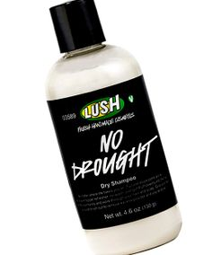 "Best Dry Shampoo No. 1: Lush No Drought Dry Shampoo, $13.95 ""It seems to soak up the shine but not leave the hair matte and gross like other canned/bottled dry shampoos,"" explained another delighted user. ""I've tried many spray dry shampoos and none have worked nearly as good as this."""