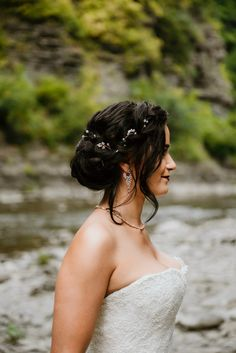 - Morgan Oreeda Bride and bridesmaid hair in Ithaca New York Finger Lakes Region Wedding hairstylist photography: Martha Swann Brides And Bridesmaids, Bridesmaid Hair, Love Photography, Wedding Photography, Pastel Makeup, Beauty Lounge, Beautiful Morning, New York Wedding, Wedding Make Up