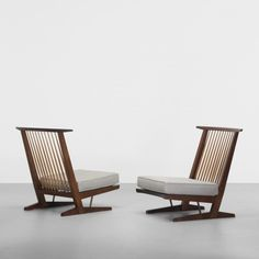 George Nakashima - Chairs... you can never have too many. And oh to own these ones!