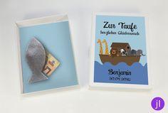 Weiteres - Geldgeschenk zur Taufe (Arche) - ein Designerstück von JessicaLorenzDesign bei DaWanda