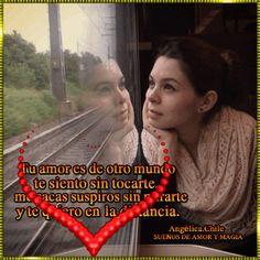 SUEÑOS DE AMOR Y MAGIA: Te quiero en la distancia