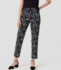 4e2d779ff113 NWT Ann Taylor Loft Vine Riviera Cropped Pants in Julie Fit Size 8 Curvy  Fit #