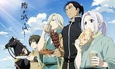 Elam, Narusasu, Daryun & Arslan