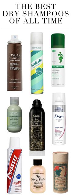 The Best Dry Shampoos of All Time!