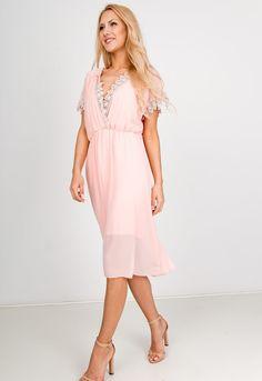 Ružové letné šaty s čipkou - ROUZIT.SK Cold Shoulder Dress, Dresses, Fashion, Vestidos, Moda, Fashion Styles, Dress, Fashion Illustrations, Gown