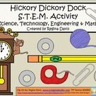 $ - S.T.E.M. activities may seem daunting when teaching young children. This is a STEM activity that I created to go with the nursery rhyme, Hickory Di...
