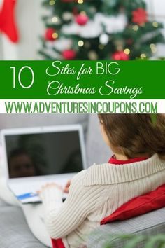 Christmas budget nonexistent? That's okay! These 10 sites for BIG Christmas savings will help you find awesome gifts while staying in your budget!