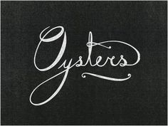 Oysters script