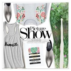 """""""Picture show"""" by teoecar ❤ liked on Polyvore featuring MANGO, Zara, SANCHEZ and zazzle"""