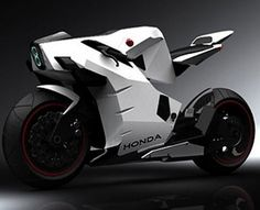 Really loving the HONDA concept bikes - great inspiration for SF comics!