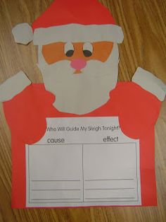 Mrs. T's First Grade Class: Who Will Guide My Sleigh Tonight?