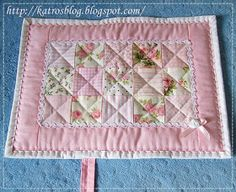 This would be a cute baby blanket idea