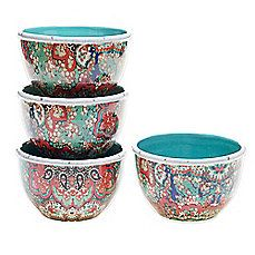 Tracy Porter® Poetic Wanderlust® Folklore Christmas Ice Cream Bowl (Set of 4)