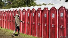 The surprisingly innovative portable-loo business