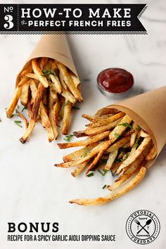 How-to Make Perfect French Fries by Tasty Yummies, via Flickr