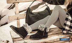 """Che siate sulla neve o nella """"giungla urbana"""", i #boots Ester in morbido #camoscio con zip laterale e interno in pelo, sono perfetti per affrontare qualunque sfida! http://www.stonefly.it/it/2/collezione/donna/679/ester-1.html"""