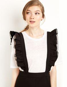 d5225aed724 suspender jumpsuit  fashion  pixiemarket Black Jumpsuit
