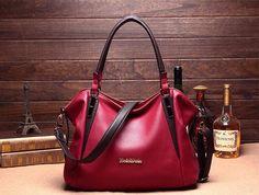 Casual Shoulder Genuine Leather Vintage Bag