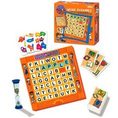 Maya  Miguel Word Scramble Multi Lingual Eng  Spanish * Want to know more, click on the image.Note:It is affiliate link to Amazon.