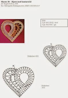 Crochet heart box 67 Ideas for 2019 Crochet Pillow Patterns Free, Bobbin Lace Patterns, Granny Square Crochet Pattern, Embroidery Patterns, Filet Crochet, Irish Crochet, Bobbin Lacemaking, Lace Heart, Point Lace