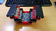 Foldable tool box by DarkEaglous. Based on a design by 3dfactorytlv.