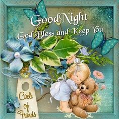 Goodnight, God Bless And Keep You good night good night quotes good night images good night blessings