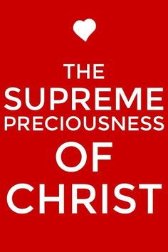 We need to have a divine sense of value in order to appreciate the supreme preciousness of Christ and the exceeding worth of the church! More via, www.agodman.com