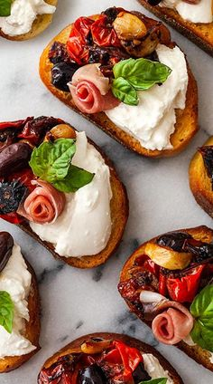 Party Entrees, Dinner Party Appetizers, Elegant Appetizers, Dinner Party Recipes, Appetizer Recipes, French Appetizers, Brunch, Bruschetta Recipe, Evening Snacks