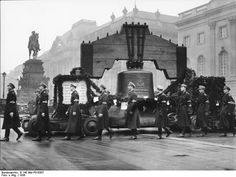 The 1936 Olympic Bell, Berlin, Germany, Aug 1936, photo 1 of 2