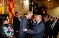 Con los miembros del Colegio Oficial de Graduados Sociales de Castellón
