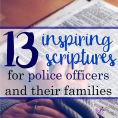 These uplifting scriptures for police officers are a great resource to help encourage your husband when he's having a hard time with law enforcement life. Police Officer Quotes, Police Officer Wedding, Police Officer Prayer, Police Quotes, Police Wife Life, Police Family, Uplifting Scripture, Inspirational Bible Quotes, Law Enforcement Quotes