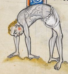 Psalter, Use of Sarum ('The Rutland Psalter') Date c 1260 Add MS 62925 Folio 21v