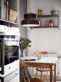 Stadshem, http://trendesso.blogspot.sk/2015/11/cozy-and-elegant-swedish-apartment.html