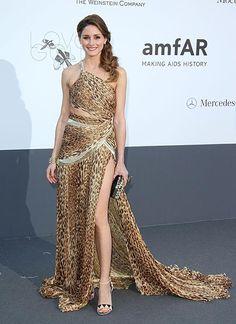 Olivia Palermo con diseño salvaje en la Gala #amfAR #CinemaAgainstAIDS