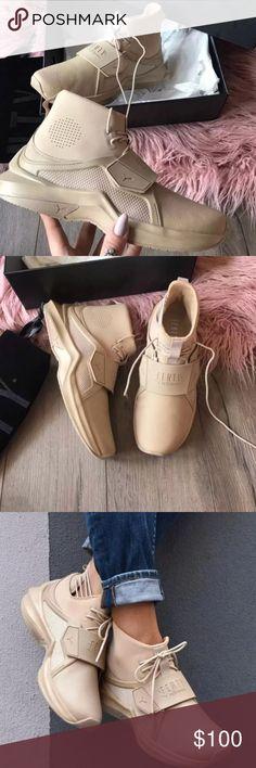 31f79480760 New! Rihanna Fenty Puma Trainer Puma Rihanna Fenty Trainer Size  9.5 Color   Beige