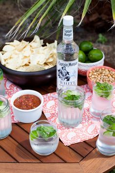 Woahitos made with Captain Morgan White Rum are the perfect drink for any Summer party.