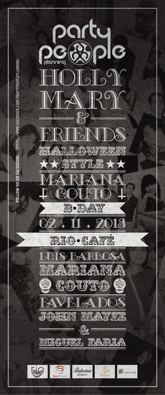 Holly Mary & Friends Poster by Jorge Moreira, via Behance