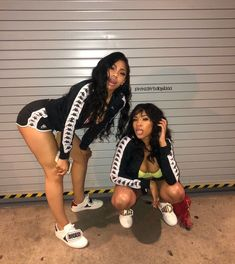 Its the weekend baddies Swag Outfits, Cute Casual Outfits, Girl Outfits, Fashion Outfits, Fashion Models, Matching Outfits Best Friend, Best Friend Outfits, Go Best Friend, Best Friend Goals