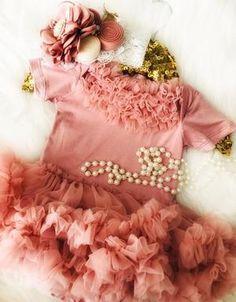 4819f1fe7d8 EXCLUSIVE KRYSSI KOUTURE - Sophie Grace Ruffle Tutu Dress