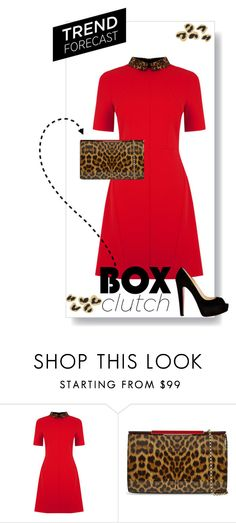 """""""ARS 85: Box Clutch (2)"""" by antonroberstyle ❤ liked on Polyvore featuring Oasis, Christian Louboutin, women's clothing, women's fashion, women, female, woman, misses and juniors"""