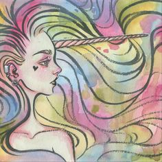 """Image of """"Zhuli"""" Limited Edition Print by Jennalee Auclair"""