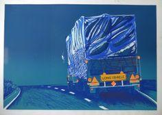 Hens de Jong: Long vehicle. Hens, Fair Grounds, Vehicles, Room, Travel, Art, Bedroom, Art Background, Viajes