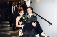 Ślubne zdjęcia gwiazd Cezary Pazura i Weronika Marczuk w 1995 Ballet Skirt, Skirts, Fashion, Moda, Tutu, Fashion Styles, Skirt, Fashion Illustrations