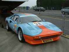 finally, a Gulf coloured Ferrari - Ferrari Life