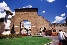 The Porta Romana, one of the gateways to Florence, Toscana