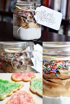 Sugar Cookie Kit | 24 Delicious DIY Food Gifts In Jars